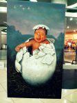 """Surprise"" by Salvador Sierra. Acrylic on canvas. (Bulacan)"