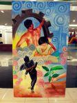 """""""Ikaw at Ako"""" by Debong Palines. Oil. (Bulacan)"""