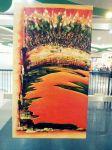 """Habagat"" by Jun Alvarez. Acrylic on wood. (Bulacan)"