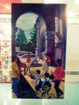 """Visit"" by Reynaldo Gatmaitan. Oil. (Pampanga)"