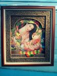 """Mother and Child"" by Joey Angeles. Acrylic on canvas. (Bulacan)"