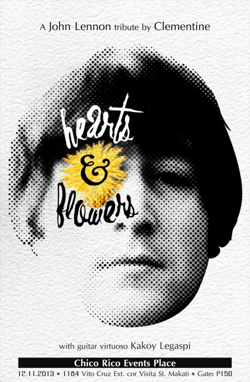 Hearts & Flowers: A John Lennon Tribute by Clementine