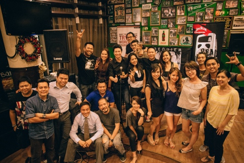 Group shot with the organizers, musicians and some of the beautiful people in the audience.