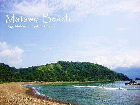 Matawe Beach, Dingalan, Aurora