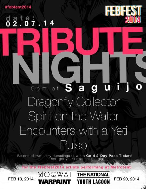 Febfest Tribute Night