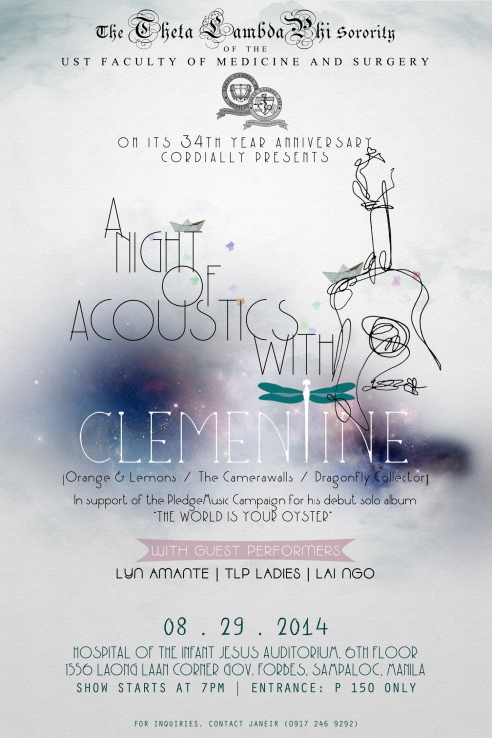 TLP Acoustic Night with Clementine