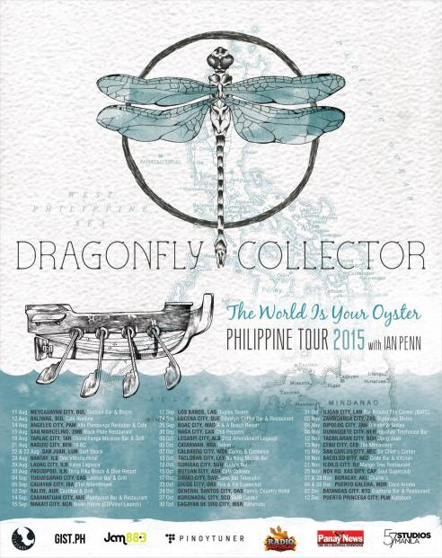 DRAGONFLY COLLECTOR The World Is Your Oyster Philippine Backpack Tour