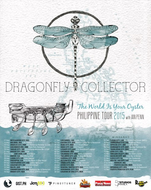 Dragonfly Collector The World Is Your Oyster Philippine Tour
